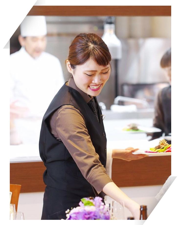 婚礼におけるサービス・キャプテン業務の請負